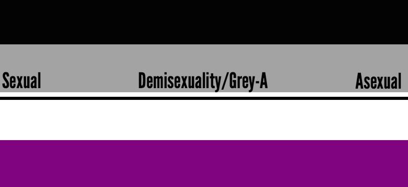 Demisexual colours