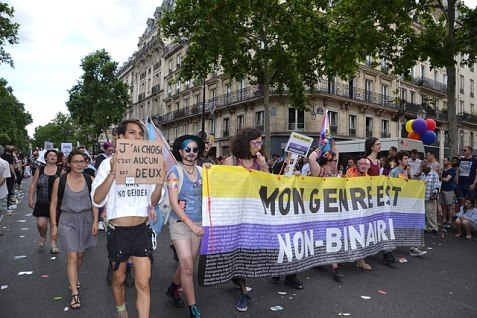By Jeanne Menjoulet from Paris, France (Paris Pride 2017) [CC BY 2.0 (https://creativecommons.org/licenses/by/2.0)], via Wikimedia Commons